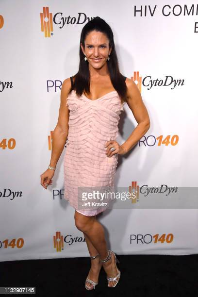 Traci Lynn Cowan attends CytoDyn's Pro 140 Awareness Event for HIV and Cancer Prevention at The Roosevelt Hotel in Hollywood on February 28 2019 in...