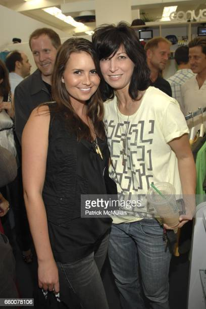 Traci Moslenko and Elizabeth Keener attend Vice for Nice HOPE Poker Invitational at Fred Segal on May 7 2009 in Santa Monica California