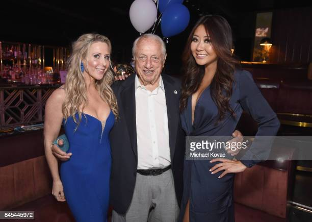Traci Szymanski, baseball Hall of Famer Tommy Lasorda and pro Poker player Maria Ho at the Heroes for Heroes: Los Angeles Police Memorial Foundation...