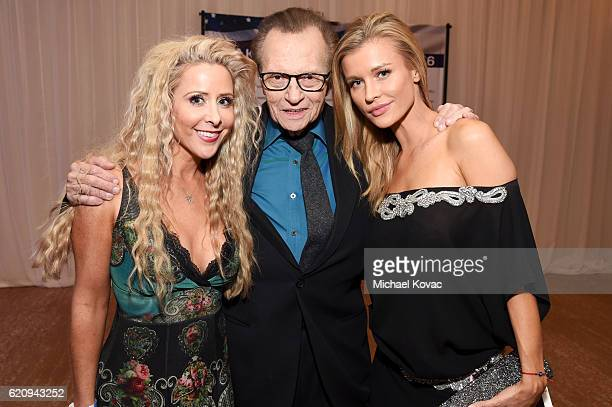Traci Szymanski TV personality Larry King and model Joanna Krupa attend Friends Of The Israel Defense Forces Western Region Gala at The Beverly...