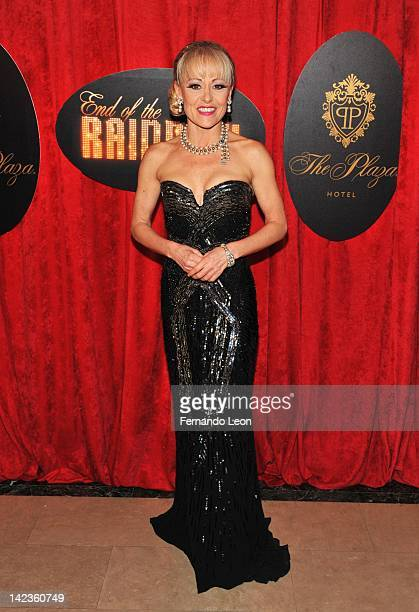 Tracie Bennett attends the after party for the End of the Rainbow Broadway opening night at The Plaza Hotel on April 2 2012 in New York City
