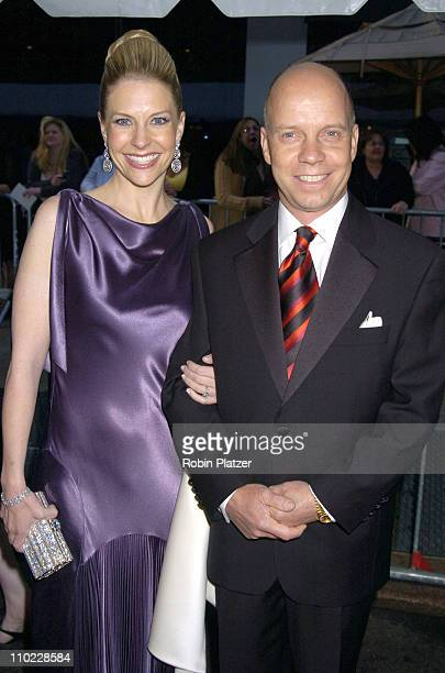 Tracie Hamilton and Scott Hamilton during 32nd Annual Daytime Emmy Awards Outside Arrivals at Radio City Music Hall in New York City New York United...