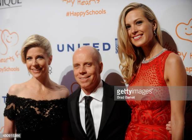 Tracie Hamilton Scott Hamilton and Petra Nemcova attend the Happy Hearts Fund Gala with Chopard 10 year anniversary of the Indian Ocean tsunami...