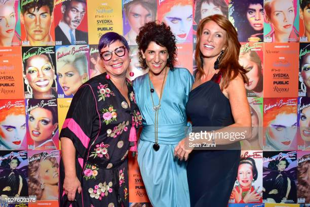 Tracie MayWagner Jen Cohen and Angie Everhart attend STARMAKER Book Launch By Roger And Mauricio Padilha at Public Hotel on September 5 2018 in New...