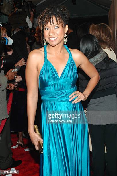 Tracie Thoms attends Halle Berry Forest Whitaker Janet Jackson Herbie Hancock Honored at Ebony's PreOscar Celebration at Jim Henson Studios on...