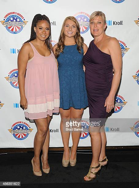 Tracie Thoms Bridget Hanley and Molly Price attend The National Law Enforcement And Firefighters Children's Foundation Hosts 2nd Annual Hero Awards...