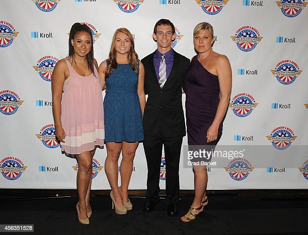 Tracie Thoms Bridget Hanley Jason Shandler and Molly Price attend The National Law Enforcement And Firefighters Children's Foundation Hosts 2nd...