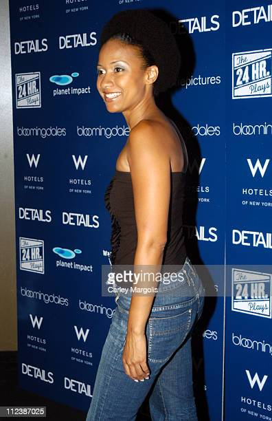 Tracie Thoms during 4th Annual New York Benefit of The 24 Hour Plays at The Whiskey at W Times Square in New York City New York United States