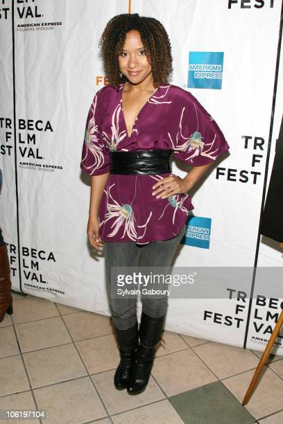 "Tracie Thoms during 6th Annual Tribeca Film Festival - ""Descent"" - Screening Arrivals at AMC West 34th Street in New York City, New York, United..."