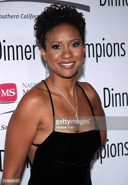 Tracie Thoms during Dinner of Champions to Honor Tom Sherak September 16 2005 at Kodak Theater in Hollywood California United States