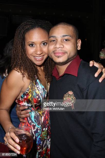 Tracie Thoms, J.D. Williams attend WET Presents - LOVE - A Benefit to Support WET's 10th Season at The Angel Orensanz Foundation on February 9, 2009...