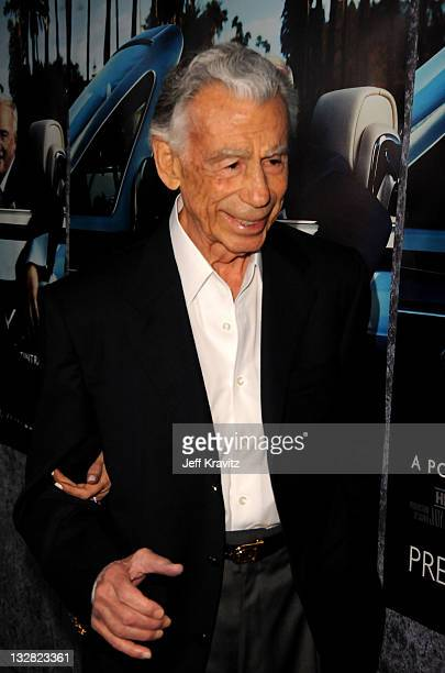 Tracinda Corporation president/CEO Kirk Kerkorian arrives at Los Angeles premiere of HBO's His Way at Paramount Studios on March 22 2011 in Hollywood...
