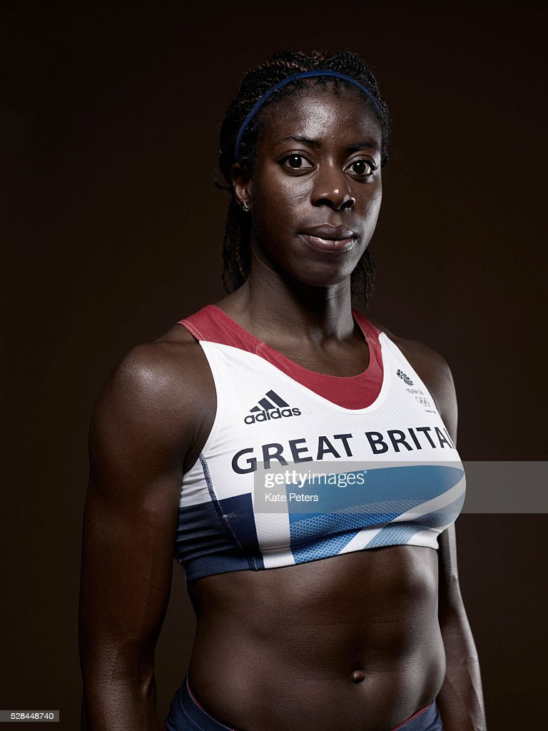 Track and field athlete Christine Ohuruogu is photographed for the Guardian on September 21, 2010 in London, England.