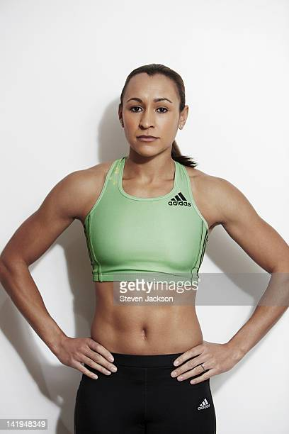 Track and field athlete Jessica Ennis is photographed on February 10 2012 in Sheffield England