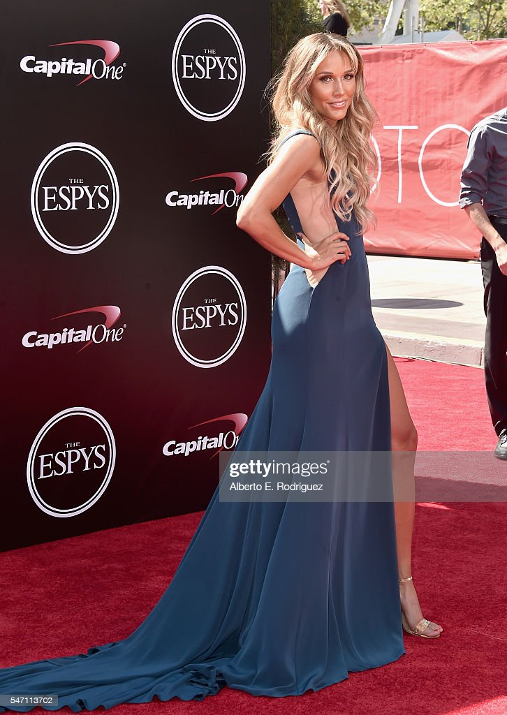 Track and field athlete Lolo Jones attends the 2016 ESPYS at Microsoft Theater on July 13, 2016 in Los Angeles, California.