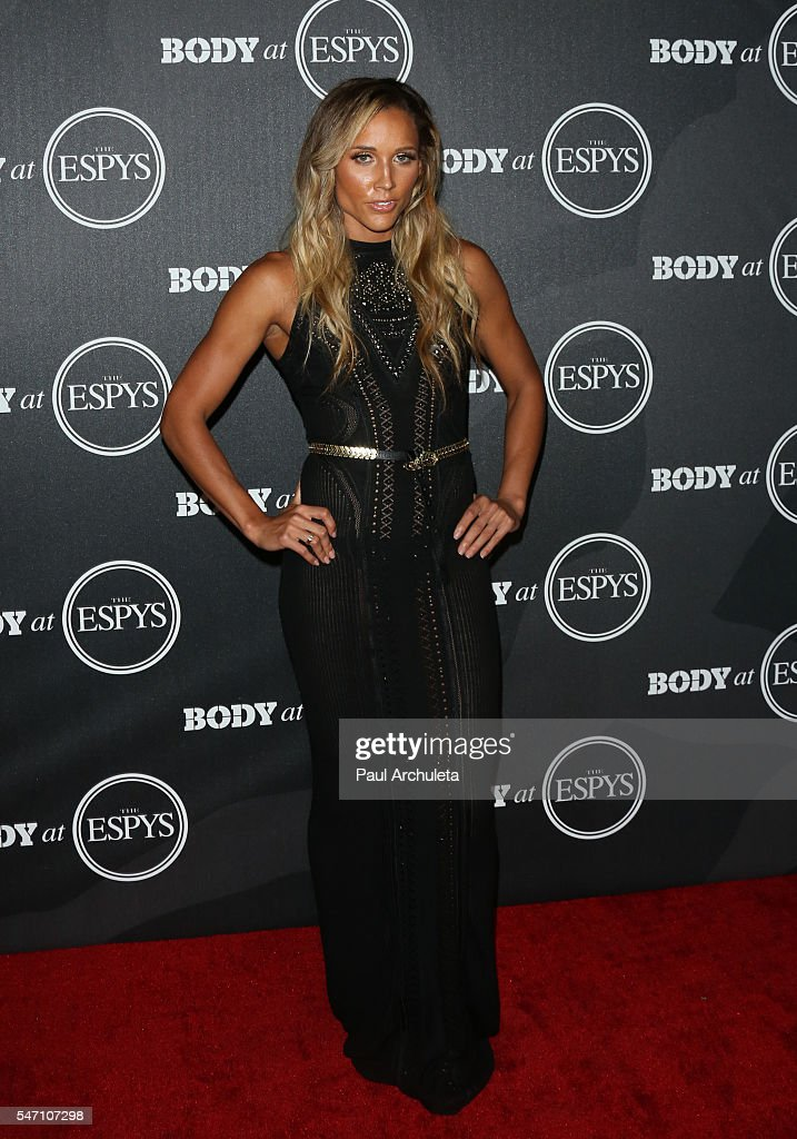 Track And Field Athlete Lolo Jones attends the ESPN Magazine BODY issue party at Avalon Hollywood on July 12, 2016 in Los Angeles, California.