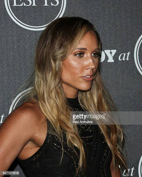 Track And Field Athlete Lolo Jones attends the ESPN Magazine BODY issue party at Avalon Hollywood on July 12 2016 in Los Angeles California