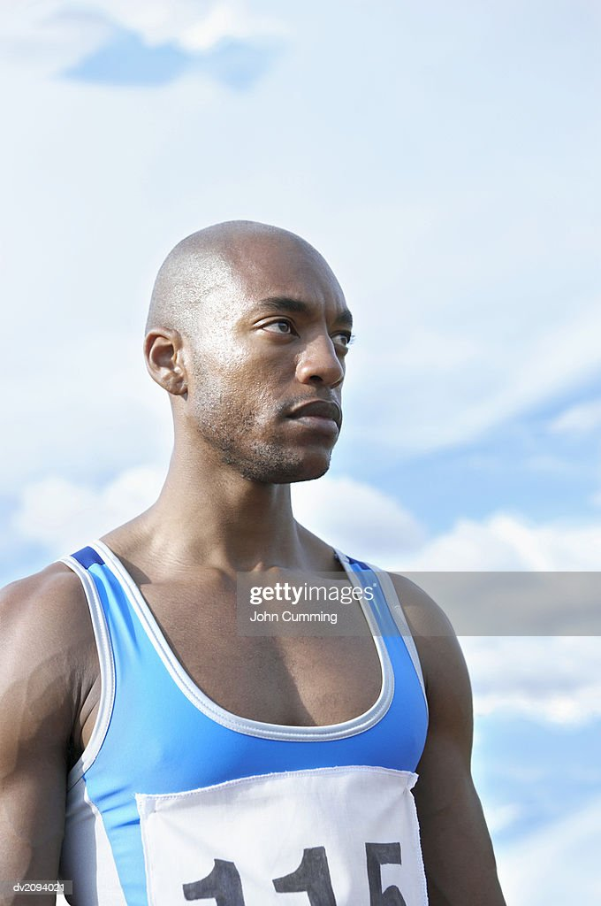 Track and Field Athlete : Stock Photo