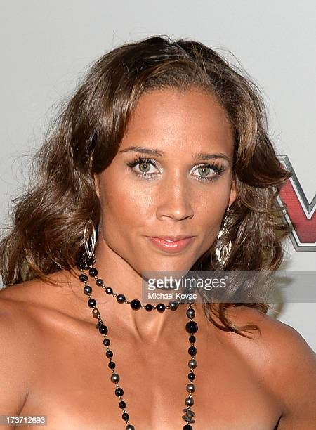 Track and field/bobsled athlete Lolo Jones attends ESPN the Magazine 5th annual Body Issue party at Lure on July 16 2013 in Hollywood California
