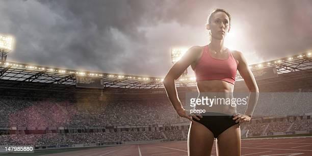 Track Athlete Portrait