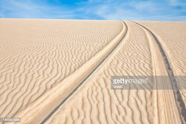 Track dune backgrounds
