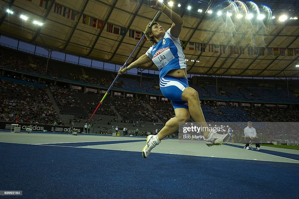 Lika Berlin 2009 iaaf chionships in athletics pictures getty images