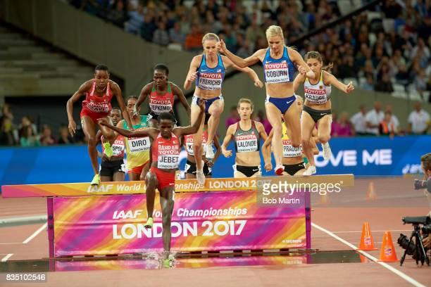 16th IAAF World Championships Bahrain Winfred Mutile Yavi Kenya Hyvin Jepkemoi Bahrain Ruth Jebet USA Courtney Frerichs USA Emma Coburn and Germany...