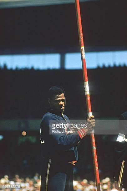 1954 Summer Olympics View of USA Milt Campbell during Decathlon at Melbourne Cricket Ground Melbourne Australia CREDIT Richard Meek