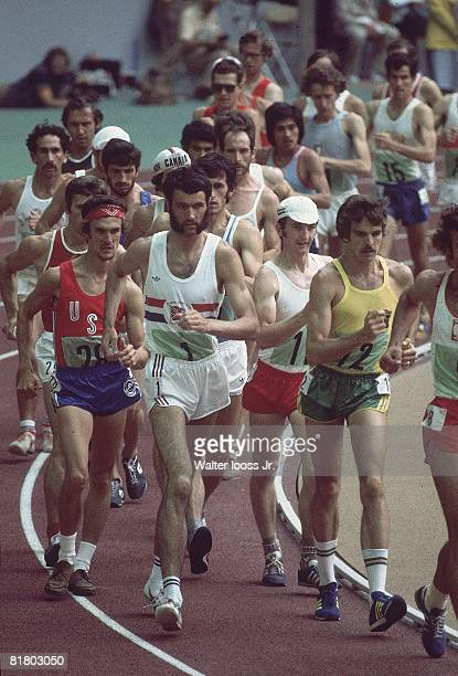 Track Field 1976 Summer Olympics Miscellaneous action during 20K race walk Montreal CAN 7/17/19768/1/1976