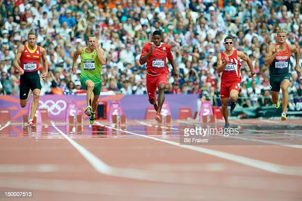 2012 Summer Olympics Belgium Hans Van Alphen Lithuania Darius Draudvila Cuba Yordani Garcia Serbia Mihail Dudas and Germany Pascal Behrenbruch in...