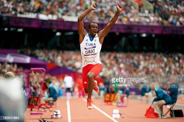 2012 Summer Olympics Cuba Arnie David Girat in action during Men's Triple Jump Qualification at Olympic Stadium London United Kingdom 8/7/2012 CREDIT...