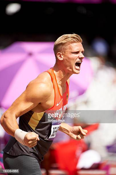 Summer Olympics: Germany Pascal Behrenbruch during Decathlon Shot Put at Olympic Stadium. London, United Kingdom 8/8/2012 CREDIT: Robert Beck