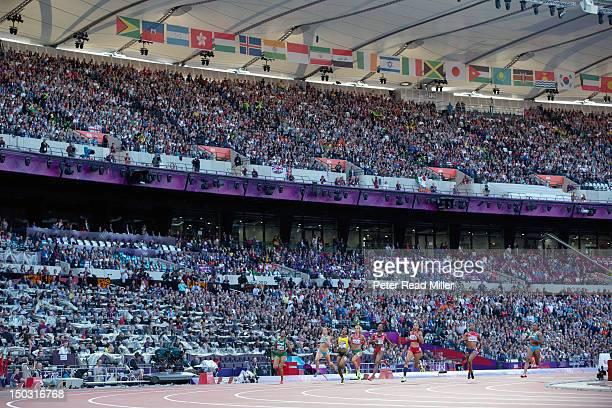 2012 Summer Olympics Nigeria Gloria Asumnu Kazakhstan Olga Bludova Bulgaria Ivet Lalova Jamaica ShellyAnn FraserPryce Trinidad and Tobago KellyAnn...