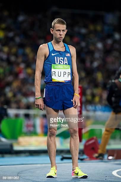 2016 Summer Olympics USA Galen Rupp during Men's 10000M Final at Olympic Stadium Rio de Janeiro Brazil 8/13/2016 CREDIT Robert Beck