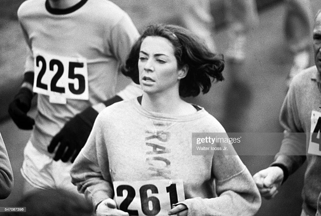 OTD Apr 19 1967 - Kathrine Switzer 1st Woman To Run Boston Marathon