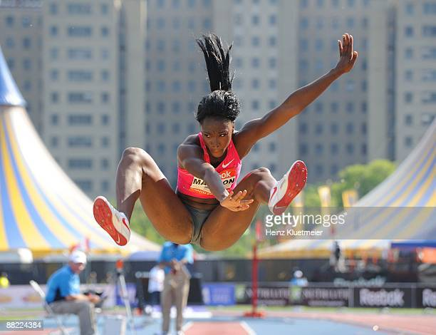 Reebok Grand Prix USA Tianna Madison in action during Women's Long Jump at Icahn Stadium on Randall's Island New York NY 5/30/2009 CREDIT Heinz...