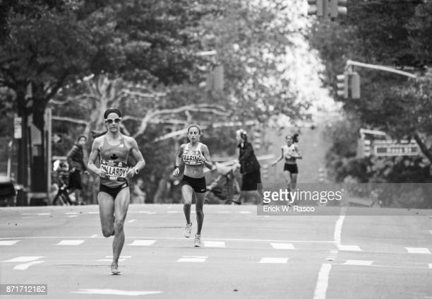 TCS New York City Marathon View of runners in action during race New York NY CREDIT Erick W Rasco
