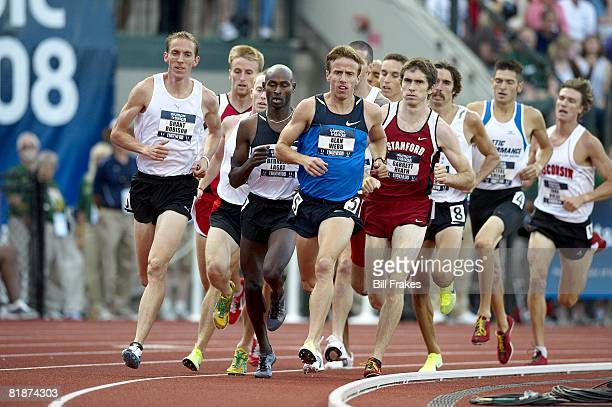 Olympic Trials: Alan Webb in action during 1500M Semifinals at Hayward Field. Eugene, OR 7/4/2008 CREDIT: Bill Frakes