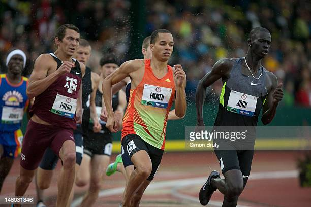 Olympic Trials: Charles Jock in action during Men's 800M qualifiers at Hayward Field. Eugene, OR 6/22/2012 CREDIT: Simon Bruty