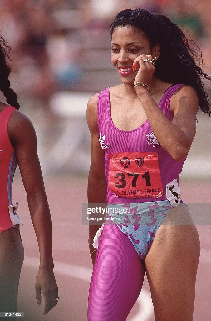 Florence Griffith Joyner, 1988 US Olympic Track & Field Trials : News Photo