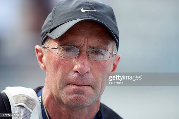 USA Outdoor Championships Closeup of Alberto Salazar coach of Mary Cain in stands at Drake Stadium Des Moines IA CREDIT Bill Frakes