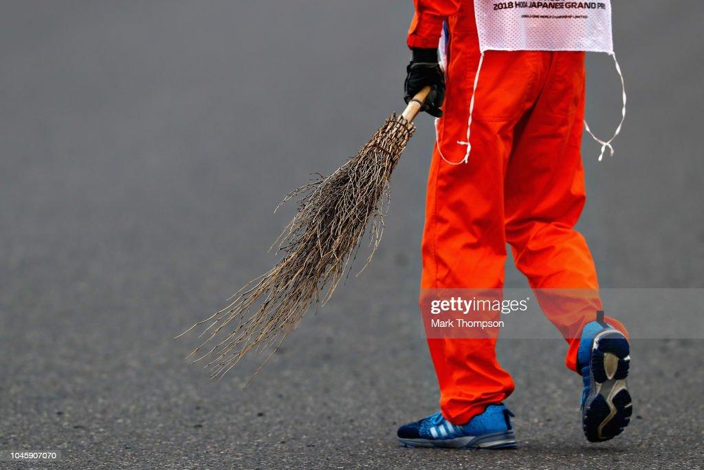 F1 Grand Prix of Japan - Practice : News Photo