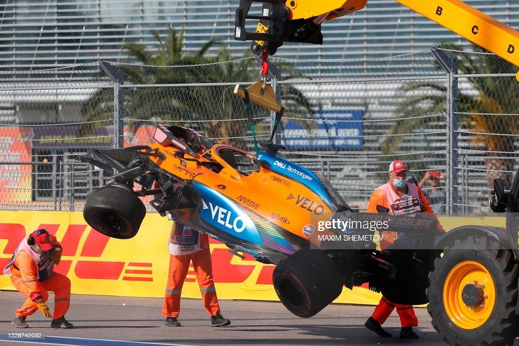 AUTO-PRIX-F1-RUS-RACE : News Photo