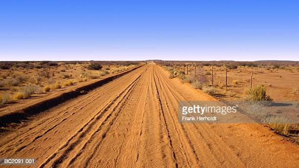 Track through Kalahari Desert, Northern Cape, South Africa