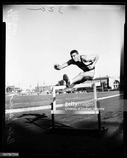 Track University of Southern California camera day 26 February 1958 Rink BabkaMax TruexCharlie DumasDave DavisWayne LemonsTom AndersonBob LawsonDave...