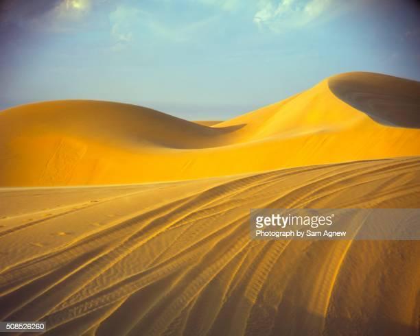 Tracked Golden Dunes