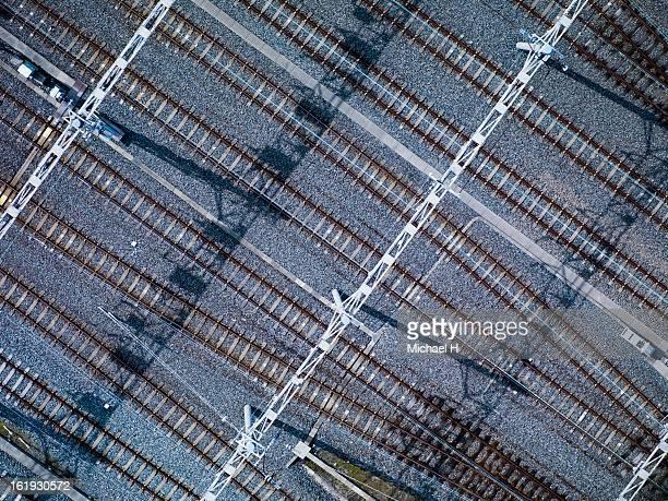Tracks of Train