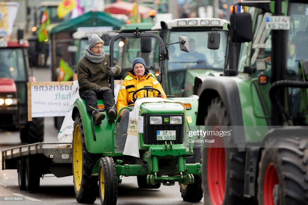 Activists And Farmers Protest Against Corporate Agriculture
