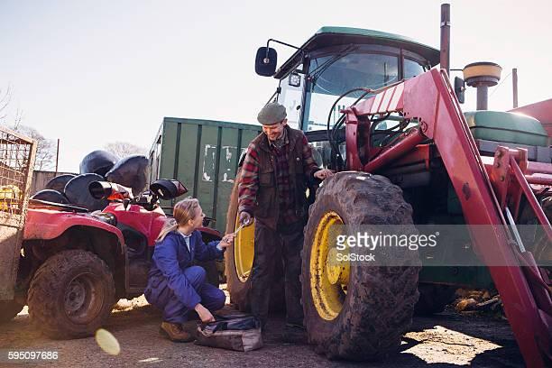 Tracteur de Maintenance