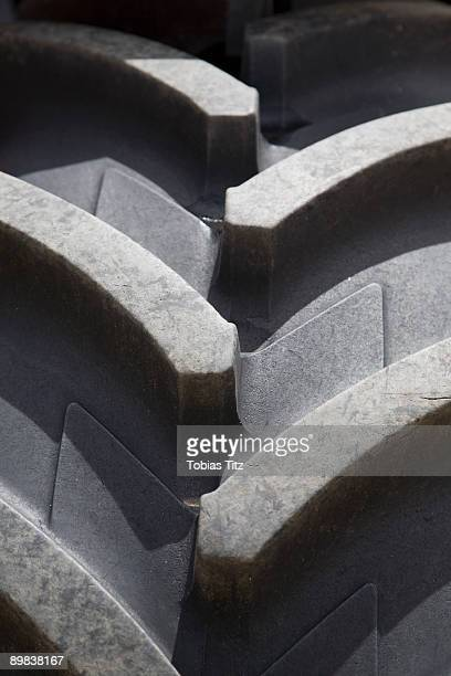 A tractor tire